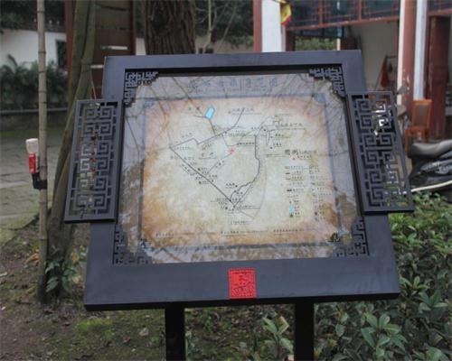 重庆涞滩古镇标识导视系统设计制作实施