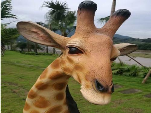 雕塑梅花鹿