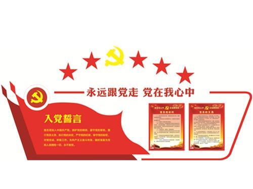 入党宣言栏